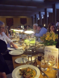 Meal Times at the 2011 Oxford Food Symposium