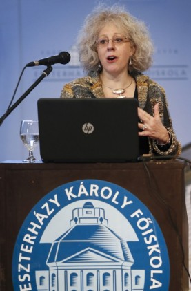 Elizabeth Gabay MW at Eszterházy Károly University of Applied Sciences, Eger