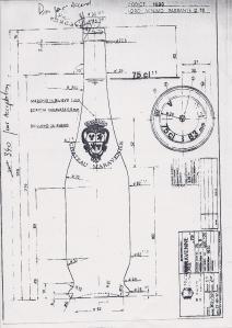 Château Maravenne blueprint 1993