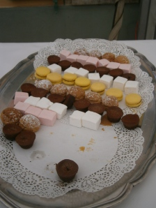 One of the dessert platters
