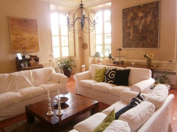 Maison du Midi - Living Room