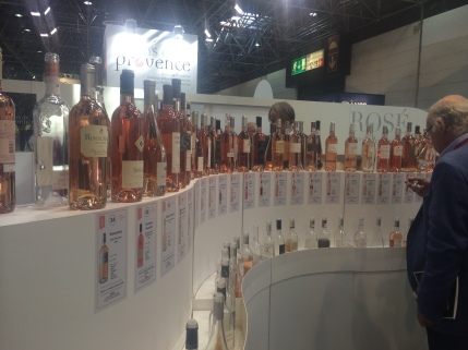 Rosés for tasting at Prowein March 2015