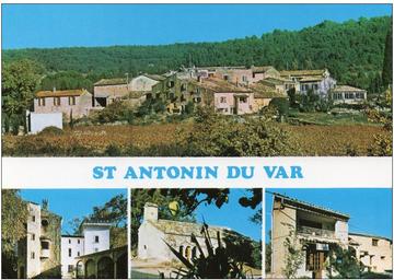 st antonin postcard