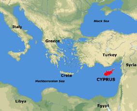 The eastern Mediterranean