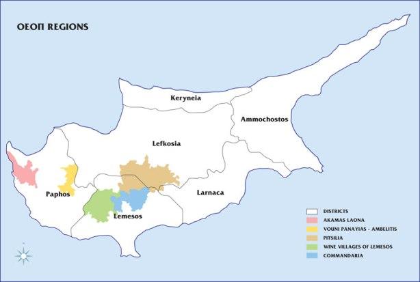 Wine regions of Cyprus