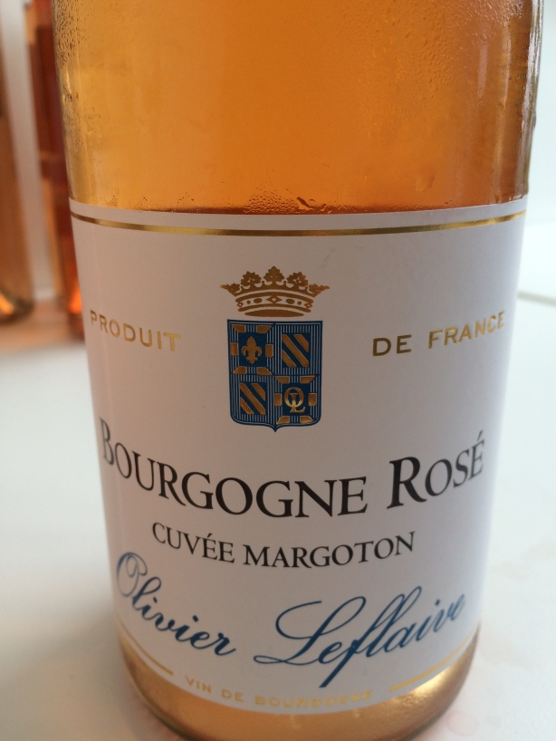 The star of the tasting, Cuvée Margotin 2010 Olivier Leflaive