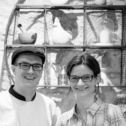 Davy and Emilie Jobard of Le Nid
