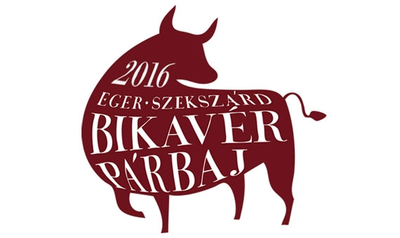 Logo for the annual Eger vs Szekszárd Bikavér tasting